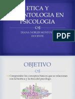 Etica y Deontologia en Psicologia