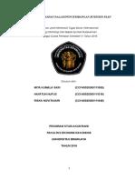 Laporan Tahapan Dalam Pengembangan Business Plan