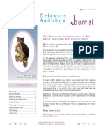 January-February 2002 Delaware Audubon Society Newsletter