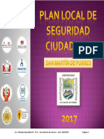 Plan Local 2017 - San Martín de Porres