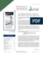 March-April 2002 Delaware Audubon Society Newsletter