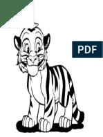 Colorear Tigre