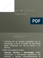 1. Definicion Ciencia y Tecnologia