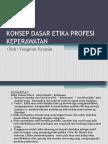 Konsep Dasar Etika Profesi (1)