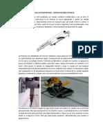 Especificaciones Tecnicas de Techo Autosoportado - ELCICSA