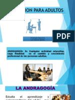 PSICOLOGIA EDUCATIVA 11 - Andragogía.pptx