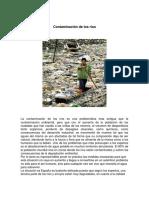 Contaminación de Los Ríos