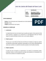 Nuevo Ingreso Temario Induccion Peritos 2016