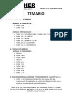 Temario Capacitacion Tornilleria