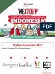 Contoh Template PitchDeck NextDev Competition 2017.PDF