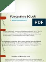 Fotocatálisis SOLAR