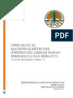 Manifest Elektronik Limbah B3