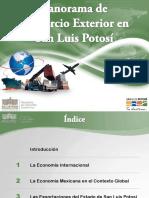Panorama de Comercio Exterior SLP 2015