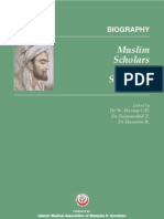 Biographies Muslims Scholars and Scientist