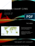 Cities to Smart Cities