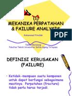 Failure Analysis Pertemuan Ke 1