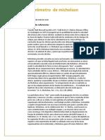 Informe Interferometro f 4