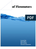 Types of Flowmeters - Alfino Alomairah Amidei
