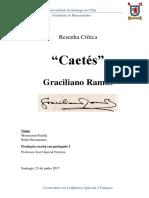 Caetés de Graciliano Ramos - Resenha crítica