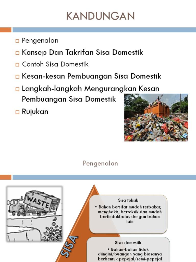 Contoh Soalan Soal Selidik Sisa Domestik Lamaran R