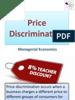 Price Discrimination - Class