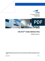 ACE Clutter Definition Files