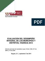 Estudios Territoriales de Sostenibilidad