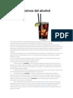 Efectos Nocivos Del Alcohol