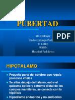 Pubertad Dr Ordoñez