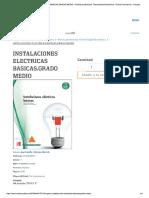 Instalaciones Electricas Basicas.grado ...Ctrónica - Ciclos Formativos - Escolar