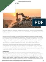 Equipment India Magazine _ Excavators Excel