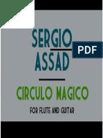 Sergio Assad Circulo Mágico Guit;Flauta