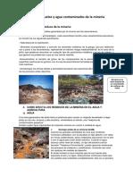 Tratamiento de Suelos y Agua Contaminados de La Minería