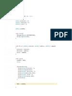 Programas Arduino