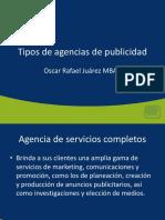 Tema 0301 Tipos de Agencias de Publicidad