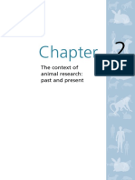 Animals Chapter 2 the Context of Animal Research Past and Present