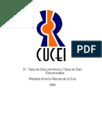 01. Tipos de Dato Primitivos y Tipos de Dato Estructurados