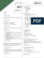 Química - Caderno de Resoluções - Apostila Volume 3 - Pré-Universitário - quim4 aula15