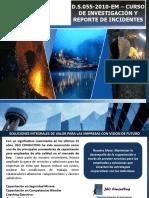Investigación y Reporte de Incidentes Pisco