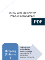 3. Waktu yang tepat Untuk Pengumpulan Sampel.pptx