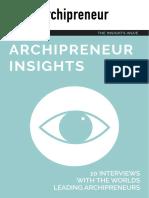 Archipreneur Insights Guide