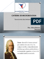 Taxonomia y Genetica Bacteriana
