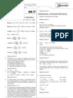 Química - Caderno de Resoluções - Apostila Volume 3 - Pré-Universitário - quim4 aula12