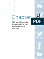 Animals Chapter 8 the Use of Animals for Research Pharmaceutical
