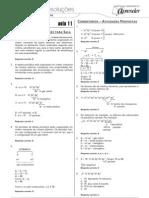 Química - Caderno de Resoluções - Apostila Volume 3 - Pré-Universitário - quim3 aula11