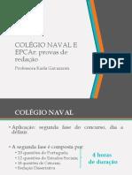 Editais Colégio Naval e Epcar