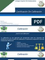 CALIBRACION Y CERTIFICACION DE INSTRUMENTOS.pptx