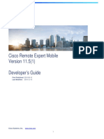 Cisco Remote Expert Mobile Developer 1151