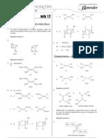 Química - Caderno de Resoluções - Apostila Volume 3 - Pré-Universitário - quim2 aula12