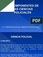 2_0 Componentes de Las Ciencias Policiales Ultimo